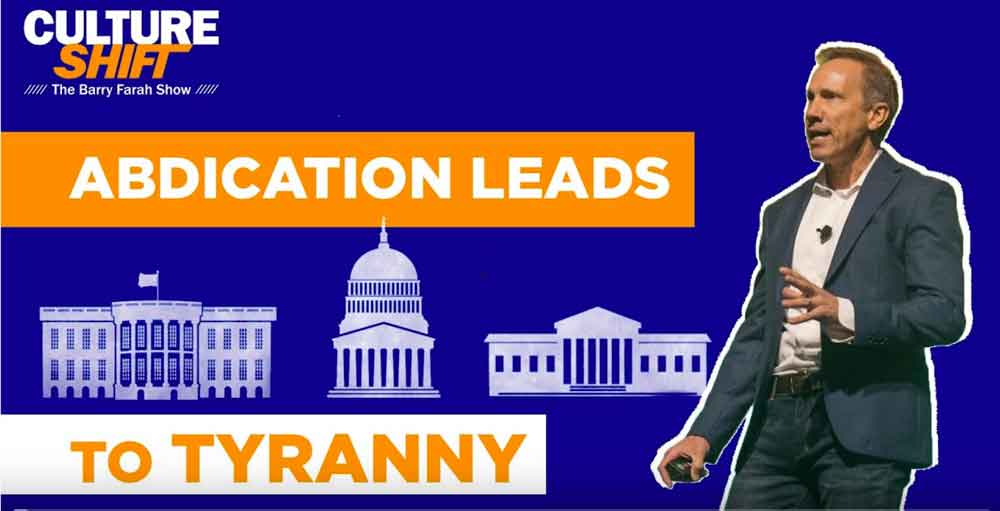 Abdication Leads to Tyranny