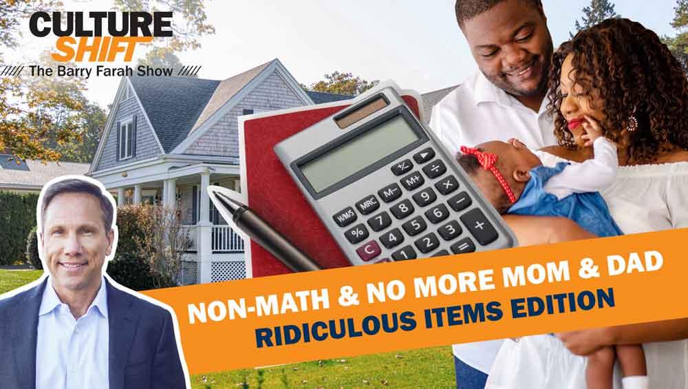Non-Math & No More Mom & Dad