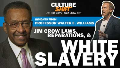 Jim Crow Laws, Reparations & White Slavery